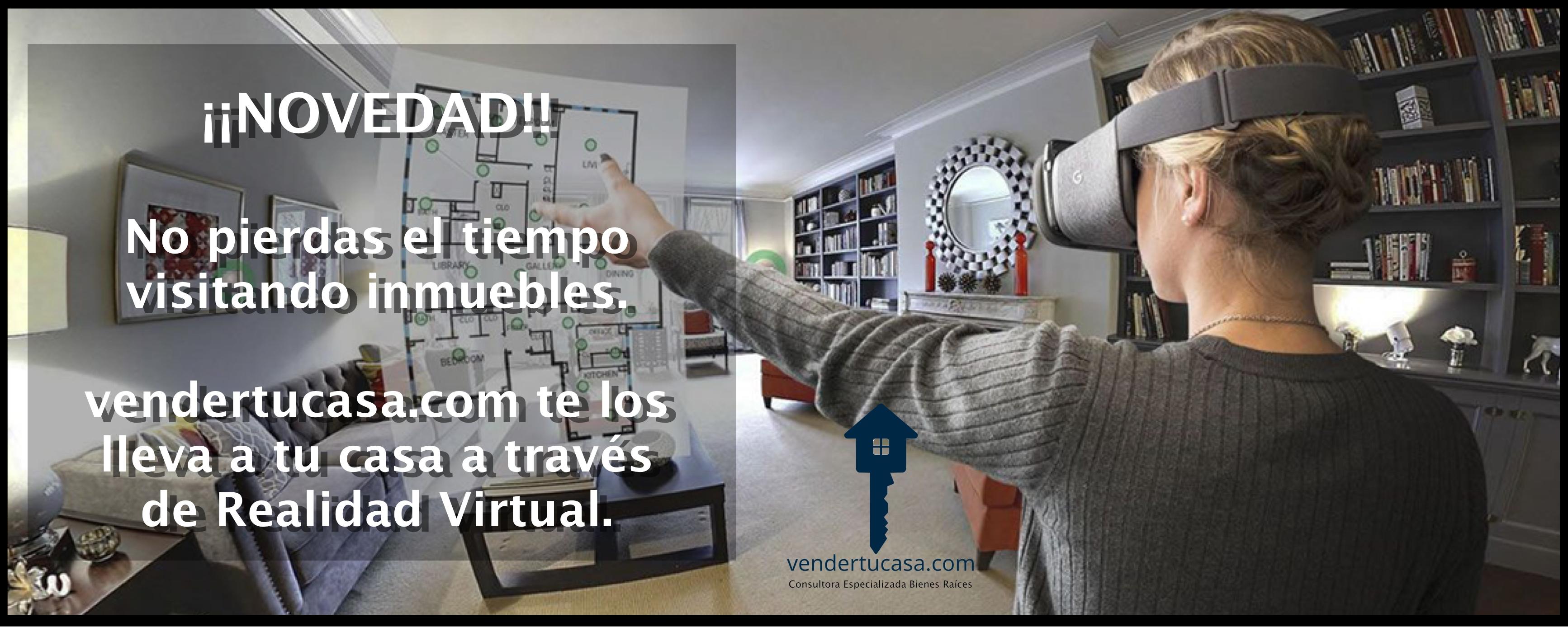 Viviendas en realidad virtual